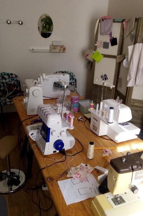 Atelier 1h30 couture en route vers le zéro déchet