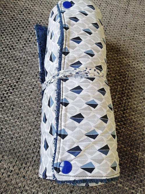 Essuie tout lavable bleu/gris
