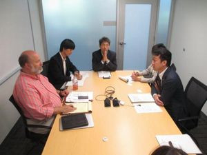 Parliamentary Vice Minister Tanaka Visited the U.S.