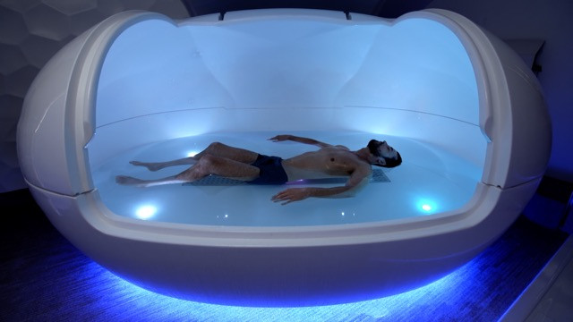 Floating in an Orbit Float Tank
