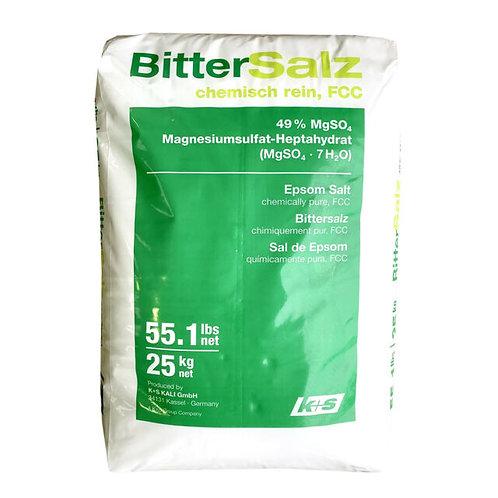 Orbit Approved Epsom Salt, 25KG, FCC Grade