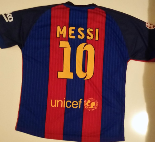 Messi Barcelona 16 17 Replica Soccer Football Jersey 398e20a7d