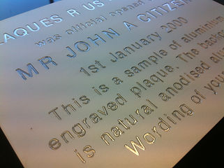 engraved plaques, engraved signs, etched signs, etched plaques