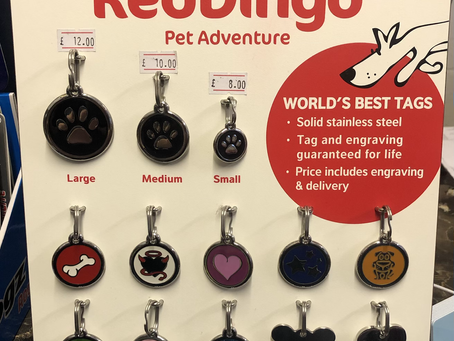 Pet ID Tags from Red Dingo