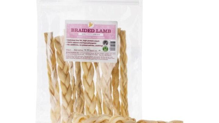 JR Pet Products Braided Lamb Chews