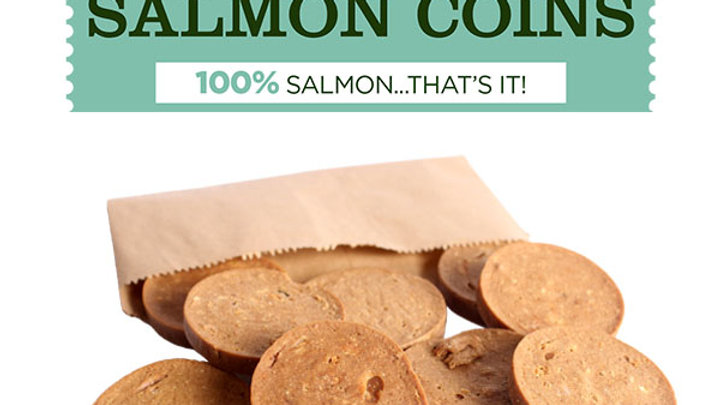 JR Pet Products Salmon Coins