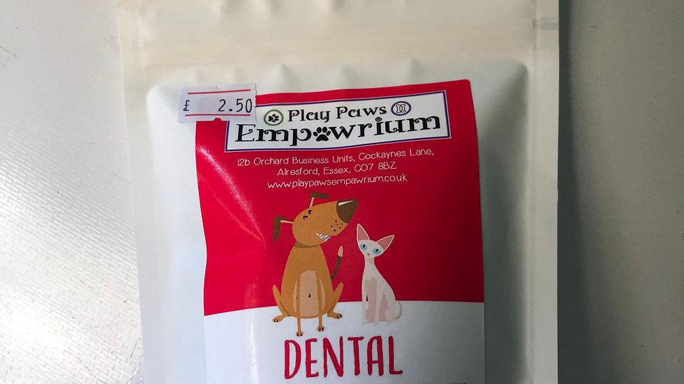 Play Paws Empawrium Dental Treats 70g