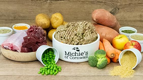 Michie's of Cornwall Raw Complete Venison & Rabbit Mince Frozen 1kg