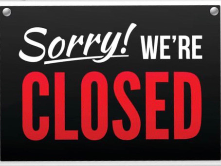 Closed Tomorrow due to Illness