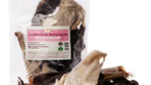 JR Pet Products Hairy Lamb Ears 100g