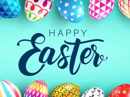 Opening Hours over the Easter Break 2021