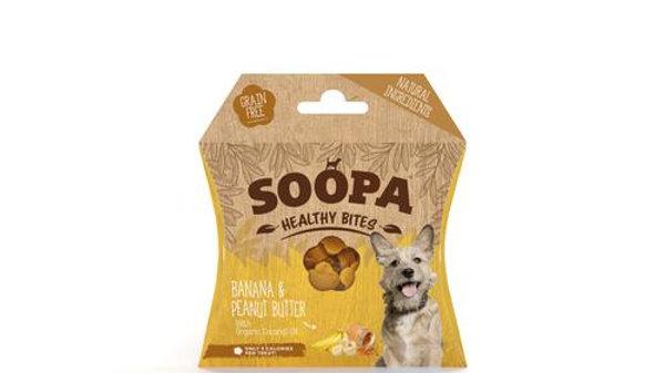 Soopa Banana & Peanut Butter Bites 50g