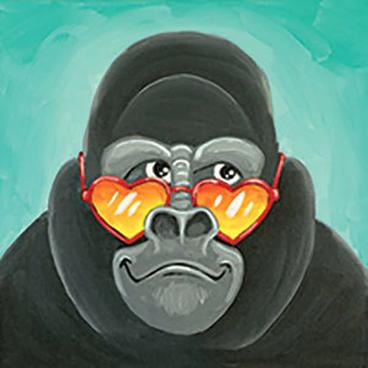 Grinning Gorilla