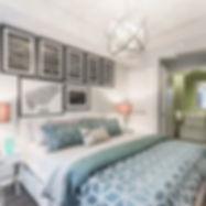 Toronto real estate design of a beautiful bedroom.