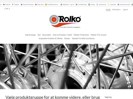 Rolko har fået en Webshop