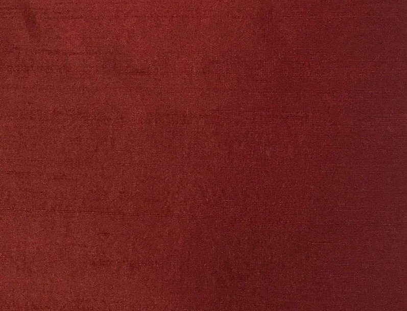 Soild Red Silk Fabric