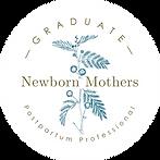 NMC-Graduate-Badge-2019 newborn mothers