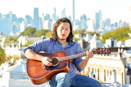 """Acoustic gutiar for YouTube series """"Rooftop Sessions"""""""