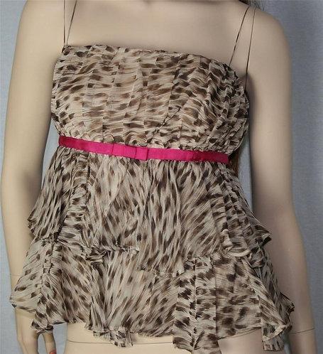 Leopard Silk Tank Cami Miss Shop Sexy