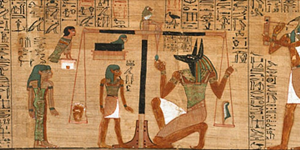 The EGYPTIAN BOOK OF THE DEAD - with Hephzibah Yohannan