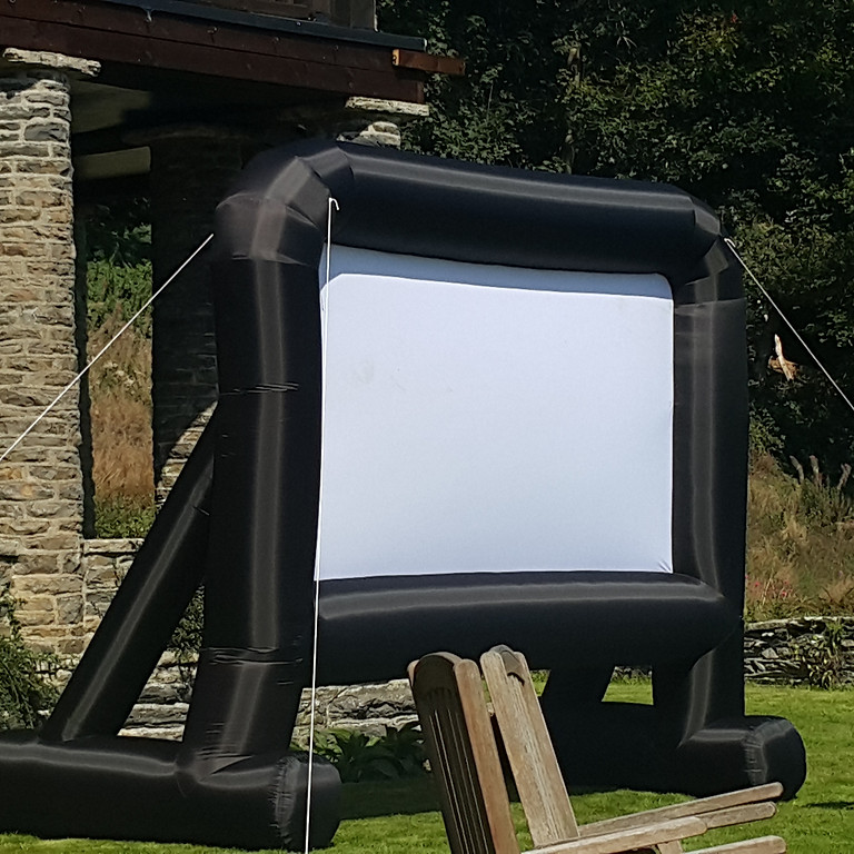 Conscious Cinema - outdoor cinema (dry run)