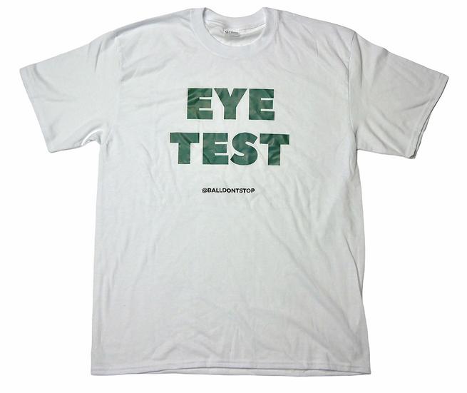 Eye Test Tee - White