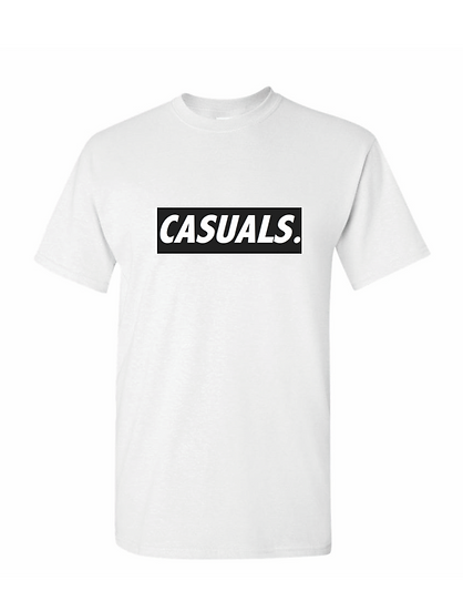 The Casuals Tee - White