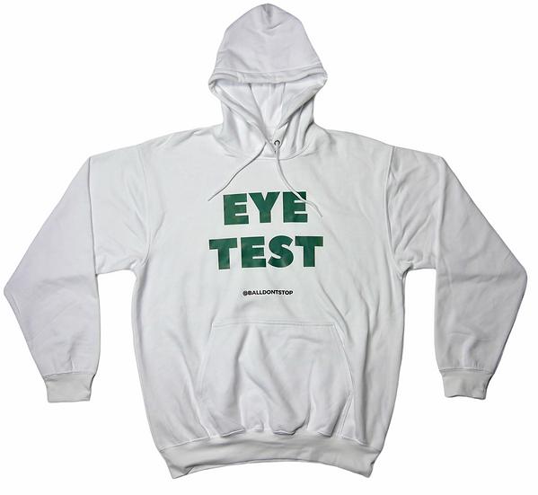 Eye Test Hoodie - White