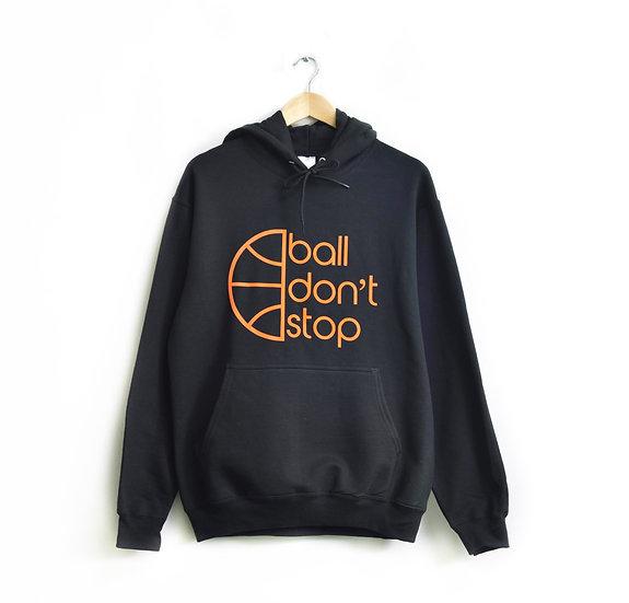 Ball Don't Stop - Black/Orange