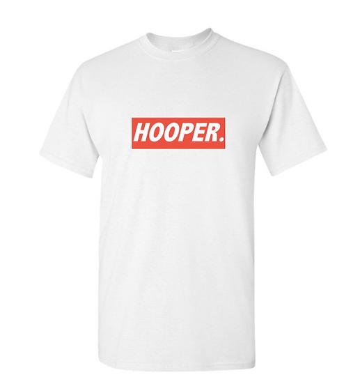 The Hooper Tee - White