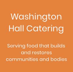 Washington Hall Catering
