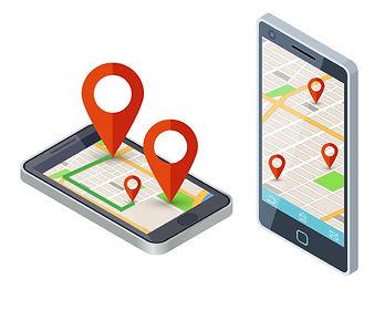 isometric-mobile-city-map-app-design-vec