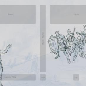 Olha capa dos Paladinos de Aterom evoluindo...