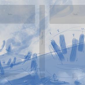 Primeiro esboço da capa do volume 2: Crônicas de Luthera - Os Paladinos de Aterom