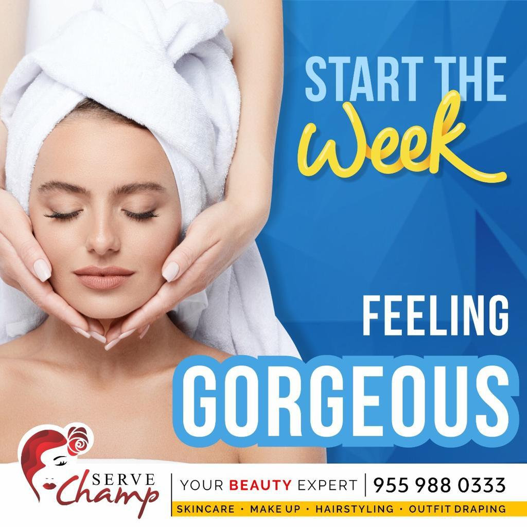 FOREVER GORGEOUS ( Free Head Massage)