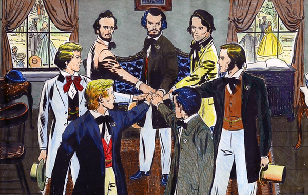 Seven Founders of Sigma Chi