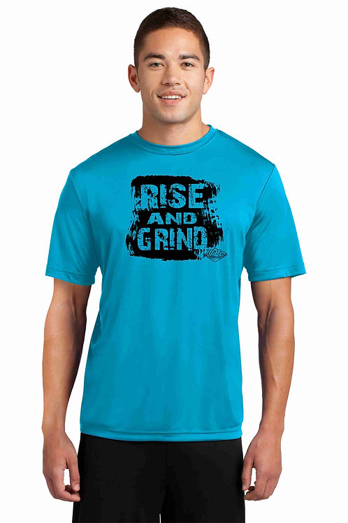 Moisture Wicking Tee - Rise and Grind