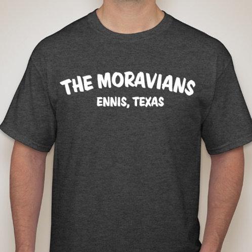"""The Moravians """"Czech E"""" T-shirt"""
