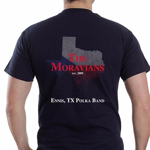 """The Moravians """"Czech Texas"""" T-shirt"""