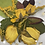 Thumbnail: Four yellow roses and GoldenRod