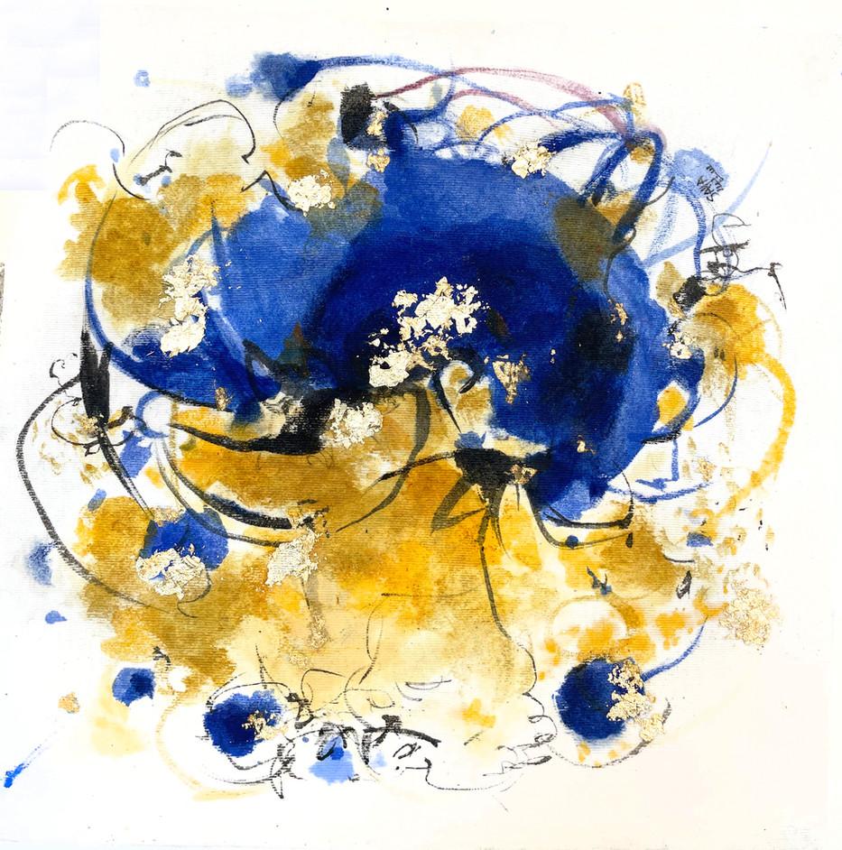 Saffron & Blue