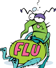 Should You Stay Away From Your Pets if You Have the Flu???