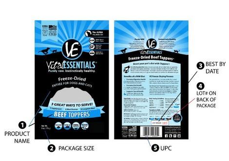 Vital Essentials Recall!!