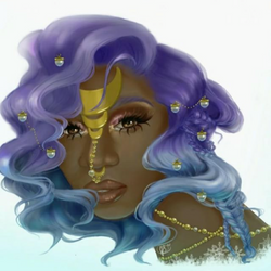 BlackGirl Mermaid Fantasy