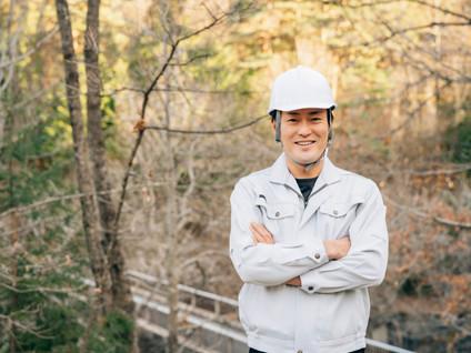 林業の男性