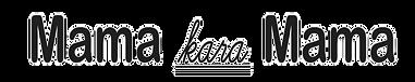 ママカラママ文字ロゴ切り抜き