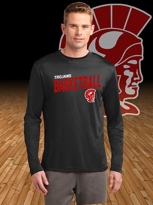 Monroe Basketball Moisture Wicking  Long Sleeve T-Shir