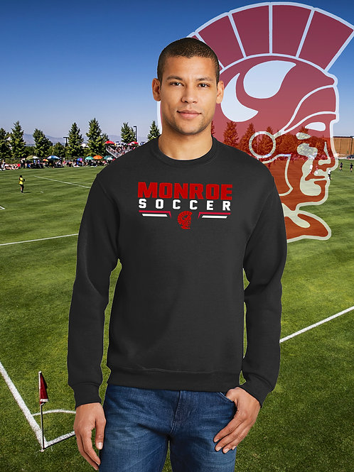 Monroe Soccer - Crewneck Sweatshirt