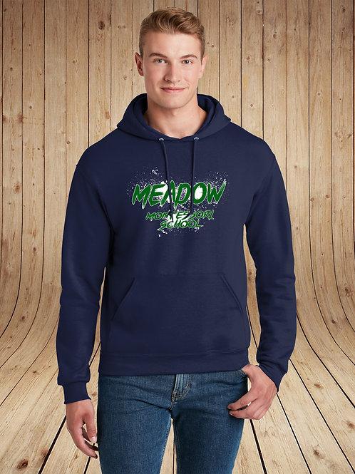 Meadow Montessori - Hoodie - Splatter Logo