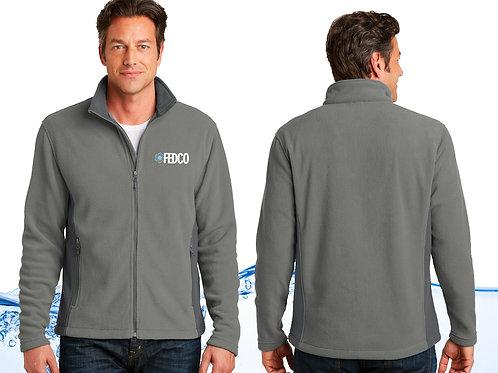 Men's Colorblock Fleece Jacket